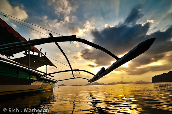 RJM Palawan Philippines Tropical Island 02 Travel Photography    Banka (pump boats) Palawan, Philippines