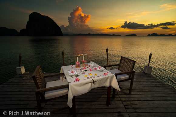 Tropical Dinner, Coron, Palawan Island, Philippines