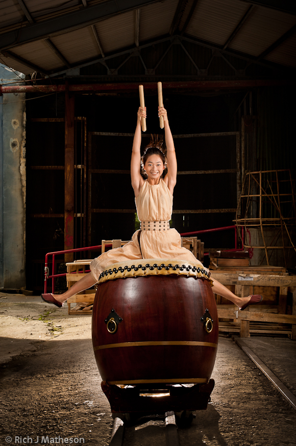 Taiwan Traditional Drum Art