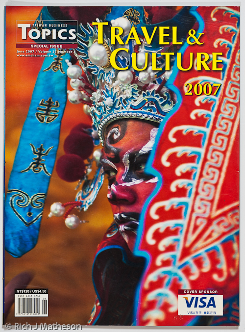 Photographers Topics Travel & Culture Magazine Tear Sheet, Tainan City, Taiwan