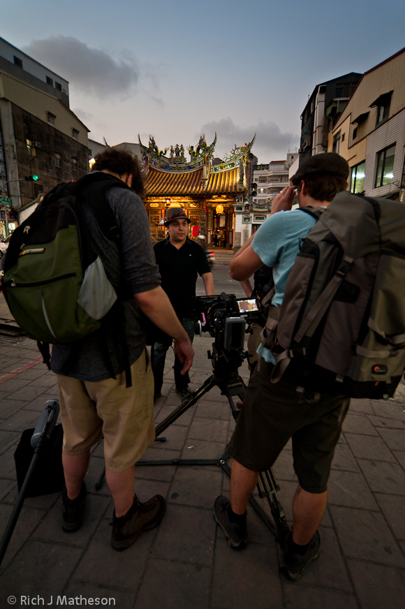Canadian Crew Filming 'Spirit Medium' in Taiwan