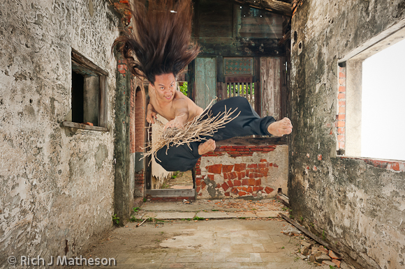 Taiwanese dancer Billy Zhang 張逸軍