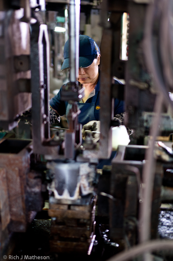 Factory worker, Tainan City, Taiwan
