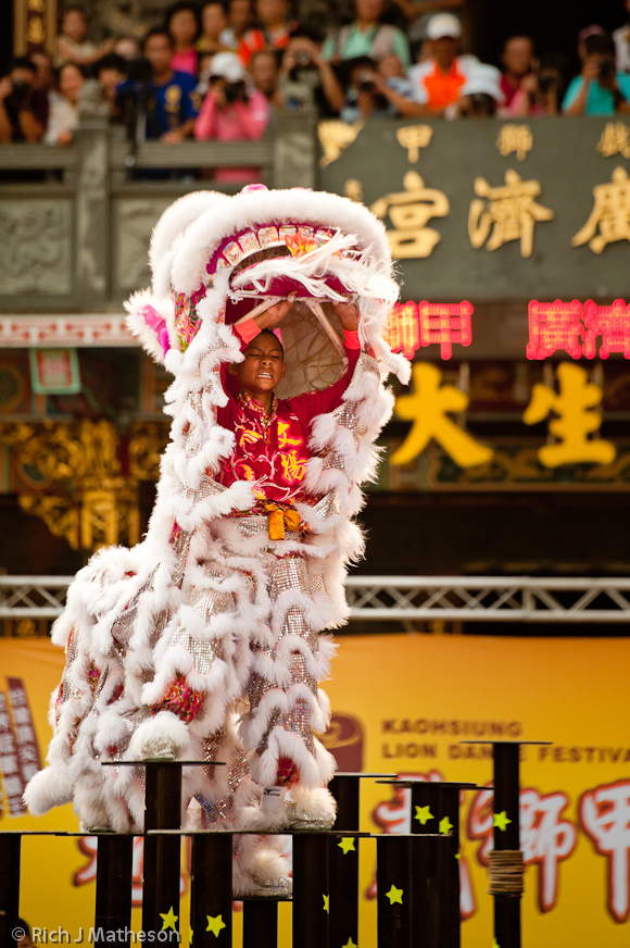 Kaohsiung Lion Dance Competition, Kaohsiung City, Taiwan