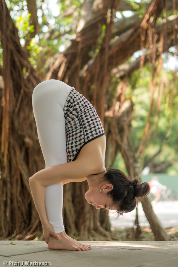 Yoga portrait